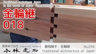 Teknik orang jepang menggabungkan papan tanpa menggunakan paku