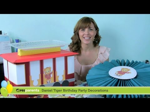 Daniel Tiger Birthday Party Ideas And Tutorials Pbs