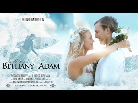 Bethany Hamilton & Adam Dirks   Fairytale Hawaii Wedding
