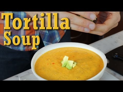 Quick & Easy Tortilla Soup: Organic Vegan Recipe