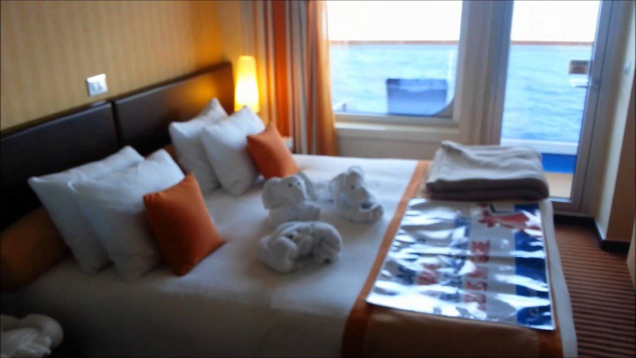 Carnival Breeze Ocean Suite Cabin 7377 Full Tour August