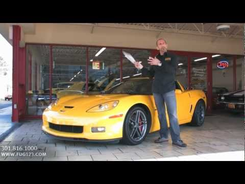 2007 Chevrolet Corvette Z06 FOR SALE TEST DRIVE flemings ultimate garage