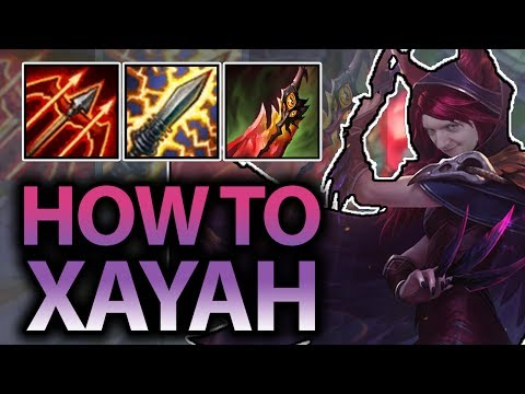 LEARN TO BE YOUR BEST XAYAH!! XAYAH ADC GUIDE SEASON 7! - League of Legends