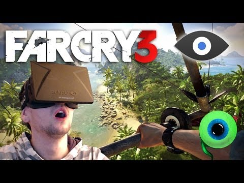 FAR CRY 3 with the OCULUS RIFT | I'M GETTING THE WILLIES AGAIN | Flying and Gliding