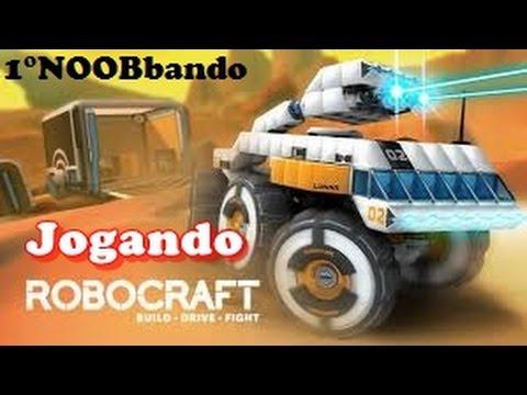 RoboCraft: Jogando Pela 1°Vez Noob :P PT-BR #1 Jogos Aleatórios