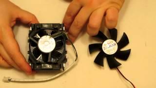 Limpiar y lubricar ventilador del procesador