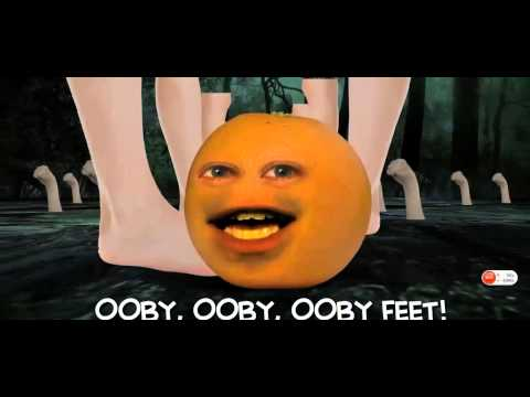 ANNOYING ORANGE WHAT DOES THE SOCK SAY ORIGINAL