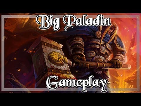 Gameplay: EZ Big Paladin Kobolds And Catacombs (Hearthstone Guide How To Play)
