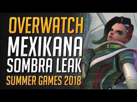 MEXICANA SOMBRA SKIN | Summer Games 2018 Skin Leak ★ Overwatch Deutsch