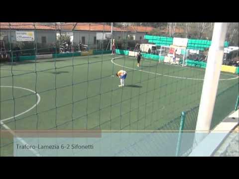 Serie C2A, Traforo-Lamezia Soccer 9-4 (11/04/15)