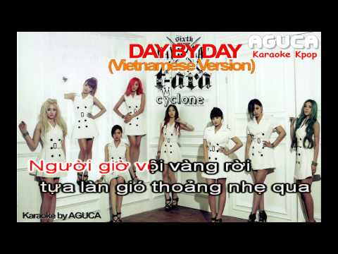 [Karaoke Việt] Day By Day - T.Ara