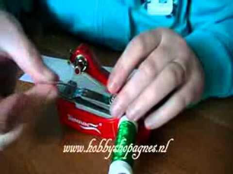 mini el dikiş makinası kullanımı