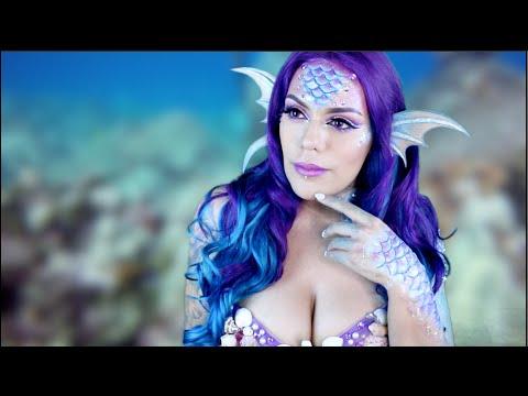 NYX Face Awards MERMAID Makeup Tutorial Halloween | LoLo Love