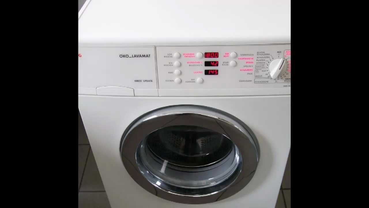 aeg ko lavamat 88830 update waschmaschine youtube. Black Bedroom Furniture Sets. Home Design Ideas