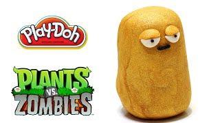 Play-Doh Plants Vs Zombies Garden Warfare Tall-nut From