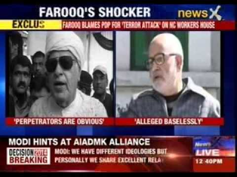 Farooq makes shocking allegation on Mehbooba's party