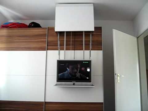der etwas andere fernsehhalter youtube. Black Bedroom Furniture Sets. Home Design Ideas