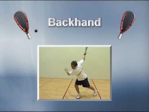 Secrets of Power Racquetball Mastering the Basics Movie - Coach Marty Hogan
