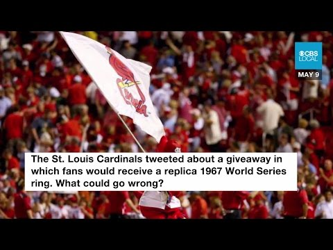 St. Louis Cardinals Delete Sexist Tweet after Backlash From Fans.