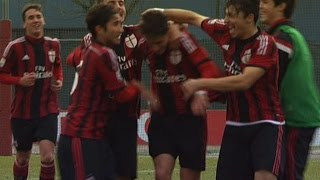 Milan-Cagliari 4-0 Highlights | AC Milan Youth Official