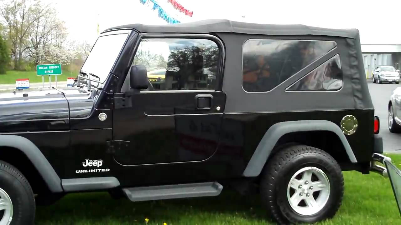 2006 jeep wrangler soft top 8406a youtube for Kipo motors used cars