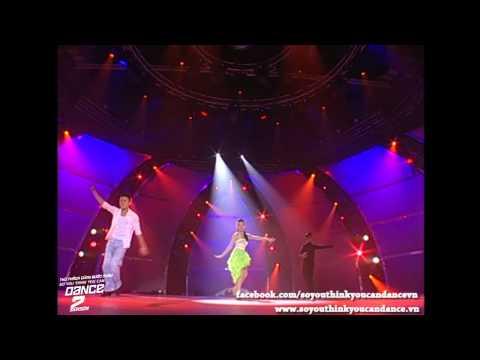 [SYTYCD 2] Chung Kết 1 (21/9) - Dance Sport - Mỹ An - Minh Trường - Bảo Long