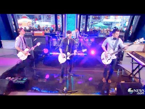 Boyce Avenue Live on Good Morning America (GMA) performing I'll Be The One