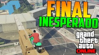 FINAL INESPERADO!!!! - Gameplay GTA 5 Online Funny Moments (Carrera GTA V PS4)