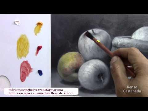 Como pintar al oleo, las veladuras