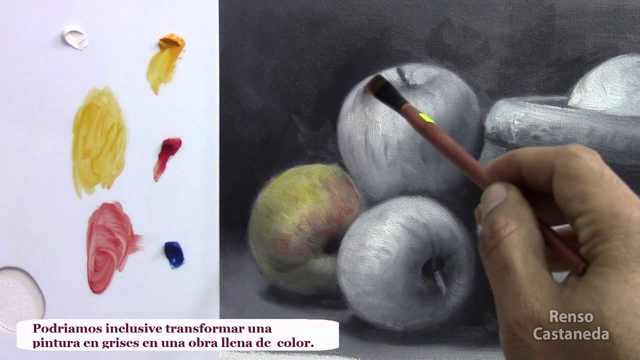 Como pintar al oleo las veladuras youtube - Como pintar al oleo paso a paso ...