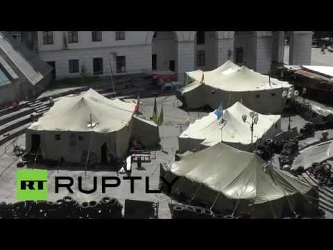 Video: Kiev protesters remain on Maidan despite Klitschko's demand to leave