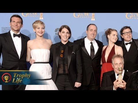 2014 Golden Globes Winners - American Hustle, Matthew McConaughey, Leonardo DiCaprio