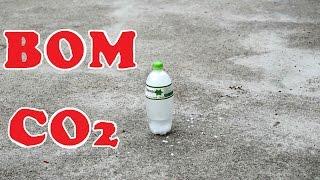 Bom Băng Khô - Bom Đá Khô - Bom CO2 - Dry Ice Bomb - Yo! Tự Làm