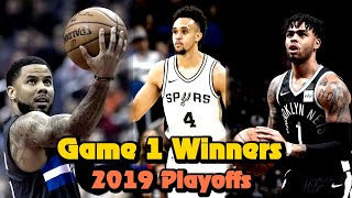 How These Underdogs Won Game 1 of the 2019 NBA Playoffs