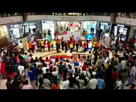 Flash mob Select Citywalk Delhi - World No Tobacco Day