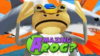 FINALLY KILLED THE GIANT SHARK?! - Amazing Frog - Part 51   Pungence