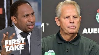 'Enough is enough!' – Stephen A. calls out Danny Ainge's failures as Celtics GM | First Take