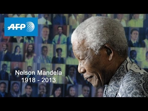 AFP Live - Nelson Mandela : Lying in State in Pretoria - December 12, 11:45 GMT
