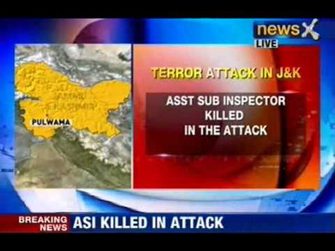 J&K: Terror attack in Pulwama district, sub inspector killed - NewsX
