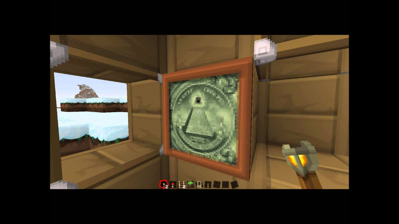 Illuminati painting in sphax pure bd craft texture pack youtube