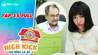 """Gia đình là số 1 sitcom   tập 35 full: choáng khi Diệu Nhi bị bác sĩ Việt Anh """"bẻ cổ"""""""