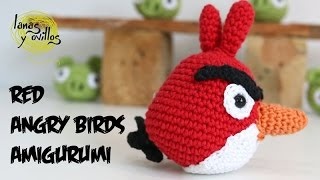 Tutorial Angry Birds Rojo Amigurumi Red 1 De 2 (English