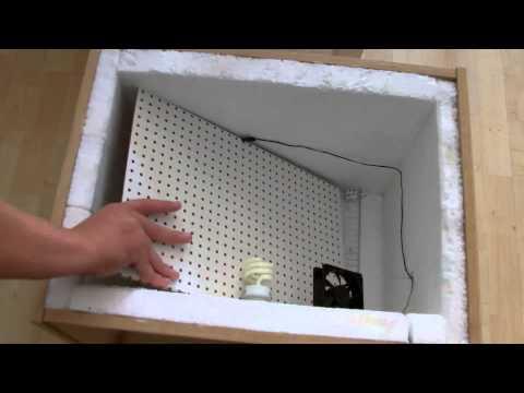 Выводной инкубатор своими руками