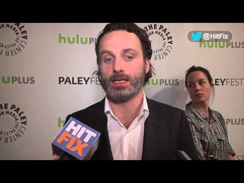 Andrew Lincoln Interview -- Ft. Norman Reedus