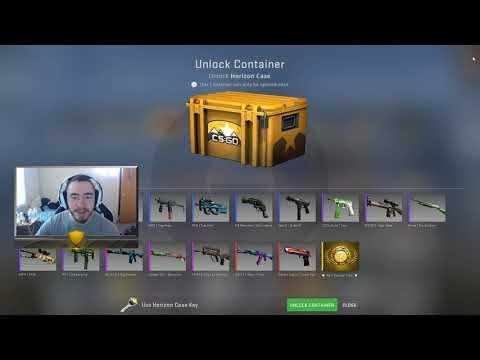 CS: GO, 2 case openings