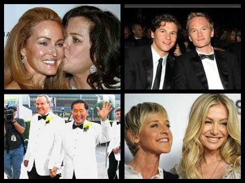 Lesbian & Gay Celebrity couples