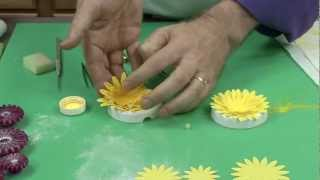 Super Easy Wired Gerbera Daisy By Chef Alan Tetreault Of
