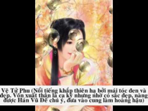 Các Mỹ Nhân Trong Lịch Sử Trung Hoa