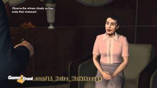 LA Noire Walkthrough - PT. 4 - Story Mission 4 - Buyer Beware - Part 1 view on youtube.com tube online.