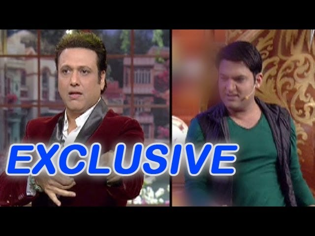 Comedy Nights with Kapil -  EXCLUSIVE pictures of Govinda with Kapil Sharma